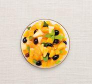 Grande salade de fruits à la menthe