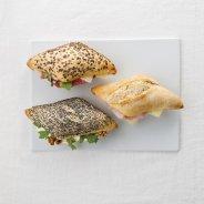 Le Club Mini Sandwichs SAUMON & BLOC DE FOIS GRAS & FROMAGE