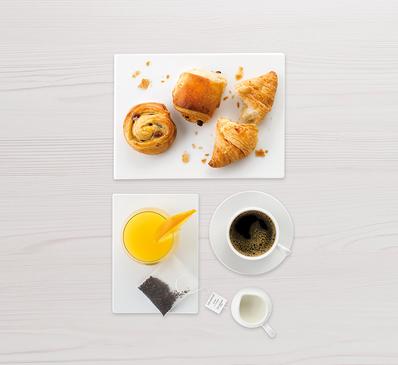 Le petit déjeuner (livré par personne)