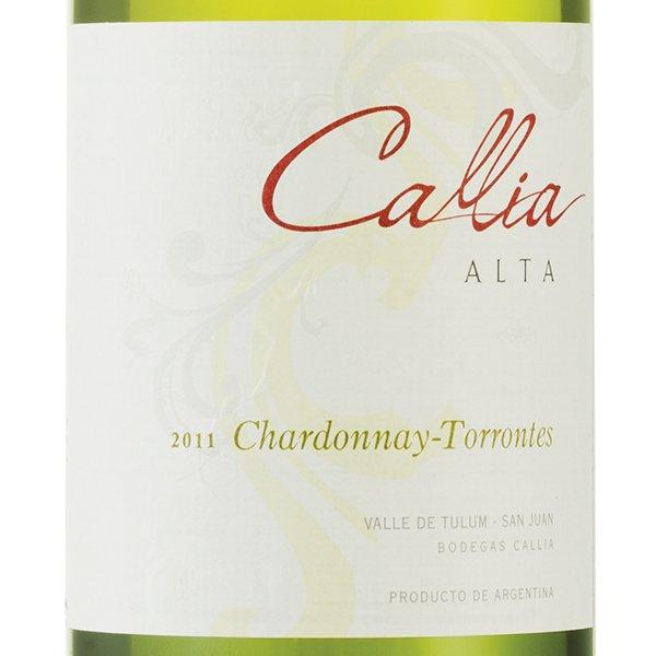 Callia Alta chardonnay, vin de la vallée de Tulum-San Juan, Argentine